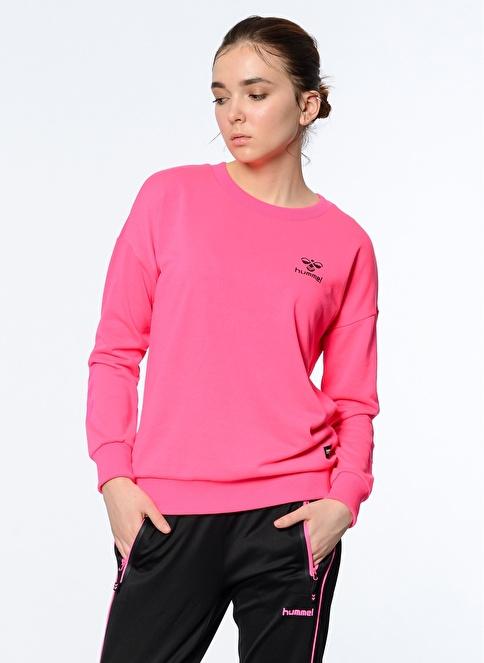 Hummel Uzun Kollu Sweatshirt Pembe